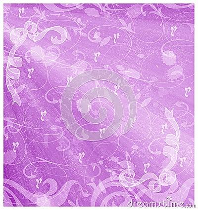 Violet ribbons background