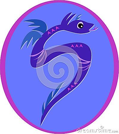 Violet Serpent Dragon