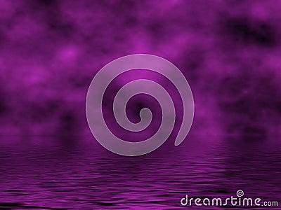 Violet Sky & Water