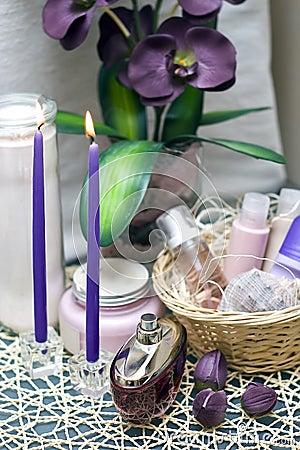 Free Violet Spa Stock Photos - 4396863