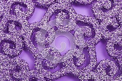 Violet sparkling background