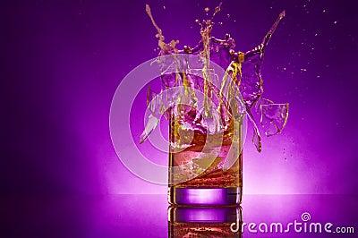 violet splash