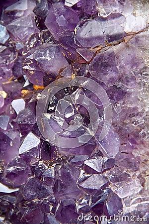 Violetkleurige Geode