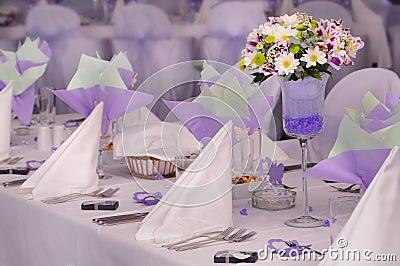 Violette Hochzeit