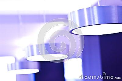 Violette Leuchten