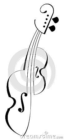 Free Violin. Stock Image - 10312361