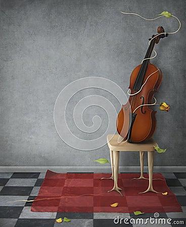 Free Violin Stock Image - 9563981