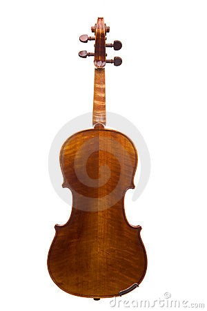 Free Violin Back View Royalty Free Stock Image - 6394296