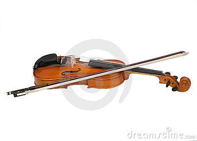 A violin and bow