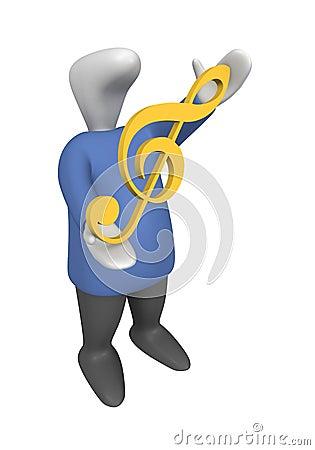 Violin clef