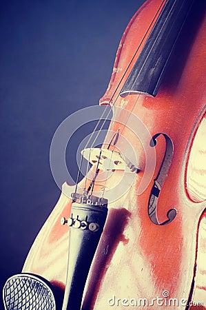 Violin details