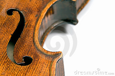 Violin f-hole
