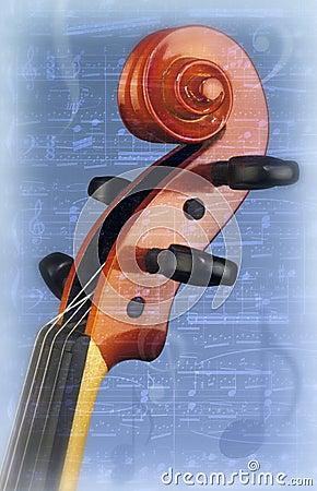 Violin Fiddlehead