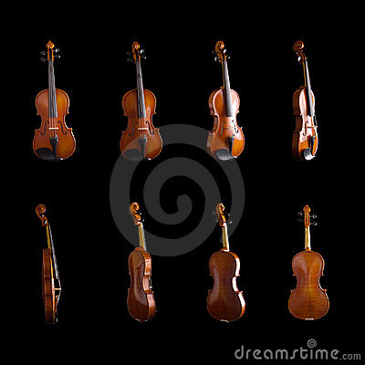Free Violin From Different Angles Stock Image - 6711091