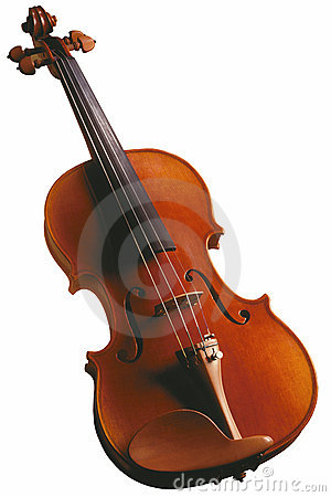 Violin - Isolated