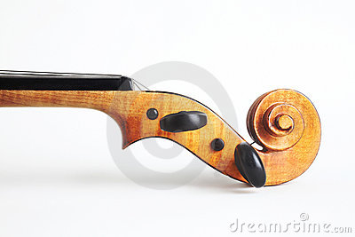 Violin musical instrument head