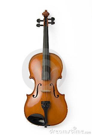 Free Violin On White Stock Images - 2061734