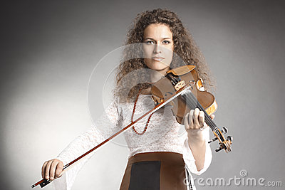 Violin player classical violinist