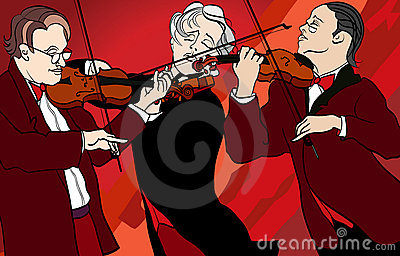 Violin players