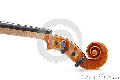 Violin Scroll
