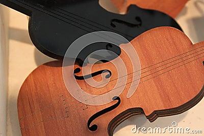 Violini della priorità bassa