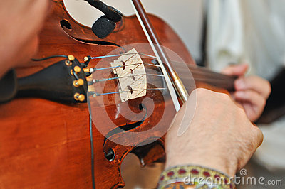 The Violinist: Musician Playing Violin At Opera Royalty Free Stock Image - Image: 25352936