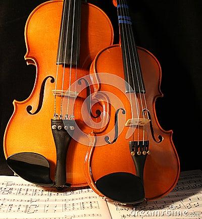 Violins & music