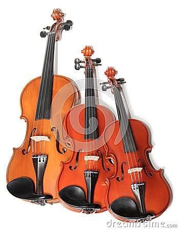 Free Violins Trio Royalty Free Stock Photos - 1409258