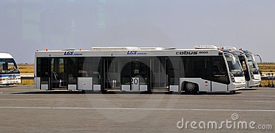 Vip aiport service - bus Editorial Stock Image