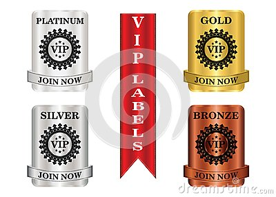 VIP Package Labels