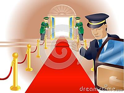 VIP Red Carpet Treatment