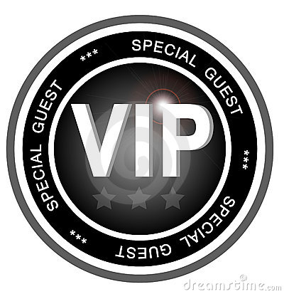 VIP special guest badge