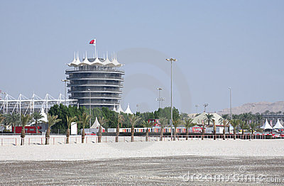 VIP tower in Bahrain International Circuit