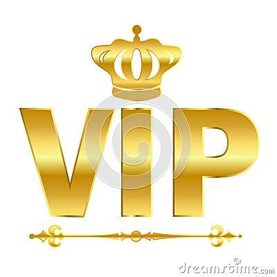 Vip vector symbol