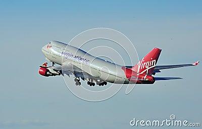 Virgin Atlantic Boeing 747 Editorial Image