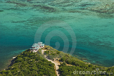 Virgin Gorda hilltop home