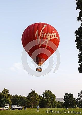 The Virgin Hot Air Balloon Editorial Photo