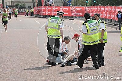 Virgin London Marathon 2011 Editorial Photo