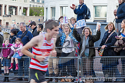 Virgin London Marathon 2012 Editorial Stock Image