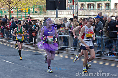 Virgin London Marathon 2012 Editorial Photography