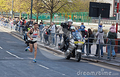 Virgin London Marathon 2012 - Merrien Editorial Stock Image