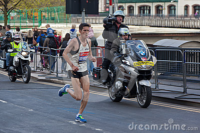 Virgin London Marathon 2012 - Merrien Editorial Image