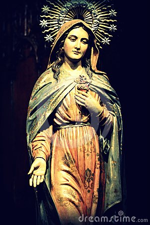 Free Virgin Mary Stock Image - 24458451
