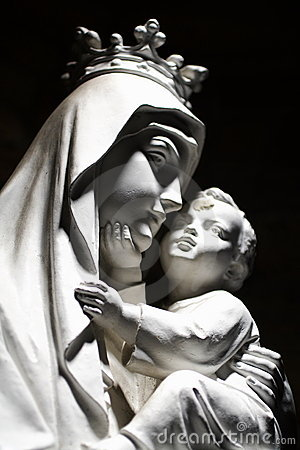 Free Virgin Mary And Child Stock Photography - 1465322