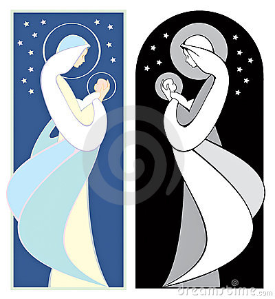 Free Virgin Mary And Jesus Royalty Free Stock Photo - 6347535