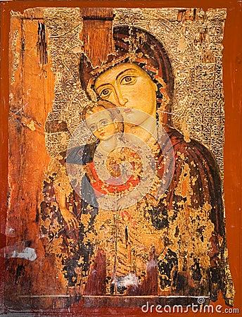 Free Virgin Mary And Jesus Stock Photo - 8933400