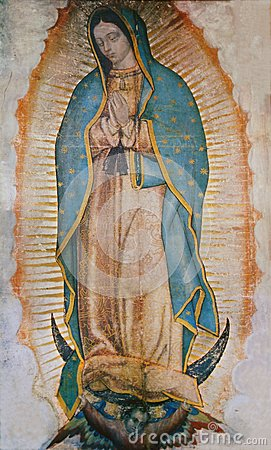Free Virgin Mary Guadalupe Royalty Free Stock Photography - 44783897