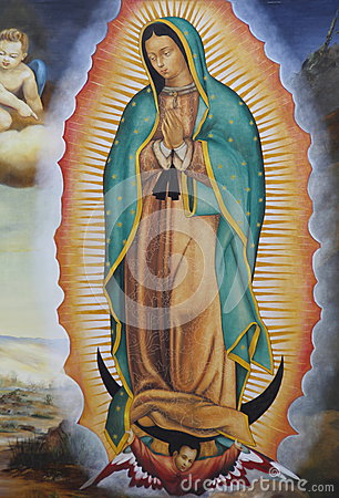 Free Virgin Mary Guadalupe II Stock Photo - 48539060