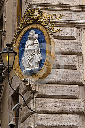 Virgin Mary house protection