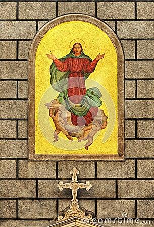 Virgin mary istanbul